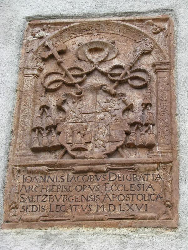 Герб принцев-архиепископов Зальцбурга