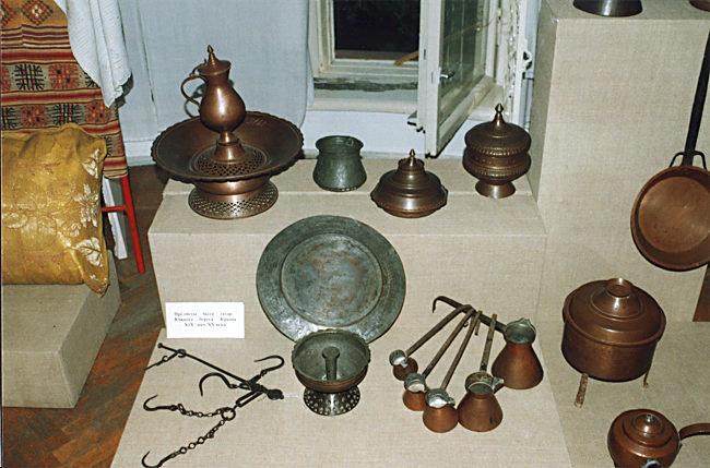 Первые экспонаты музея