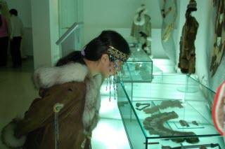 Посетитель музея