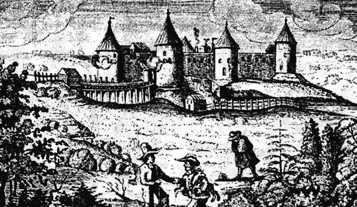 Крепость во  во владении шведских войск