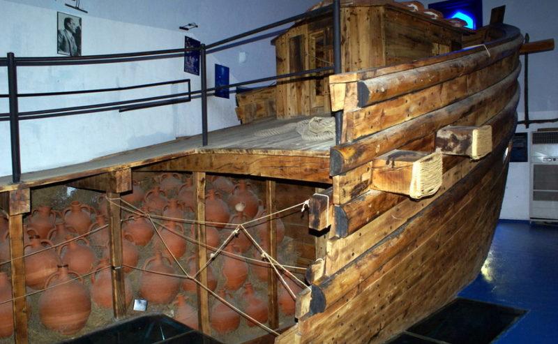 Экспонат судна