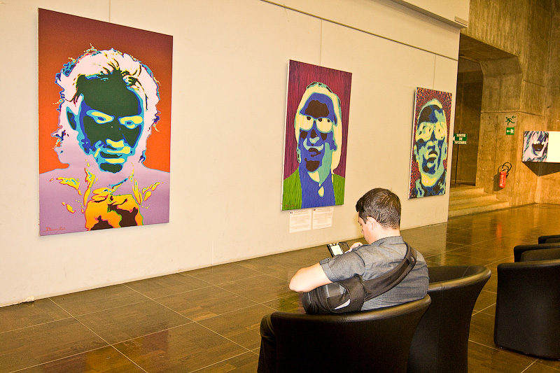 Экспозиции, посвященные живописи