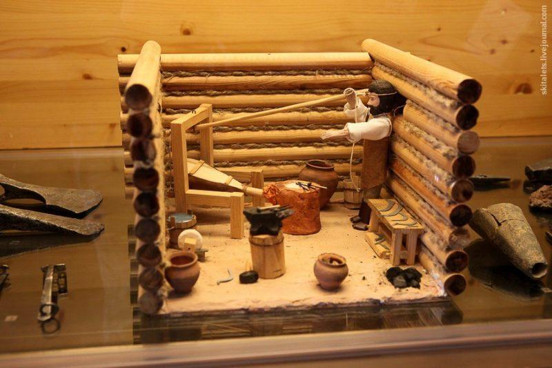 Деревянная экспозиция