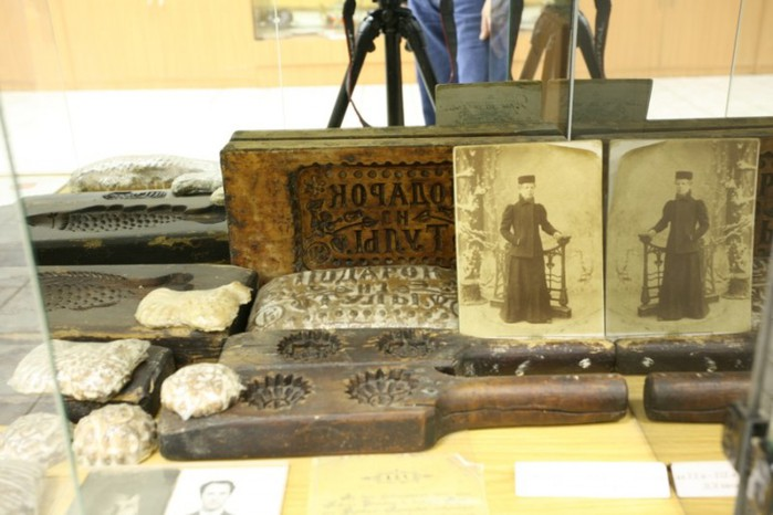 Экспонаты 120-летней давности