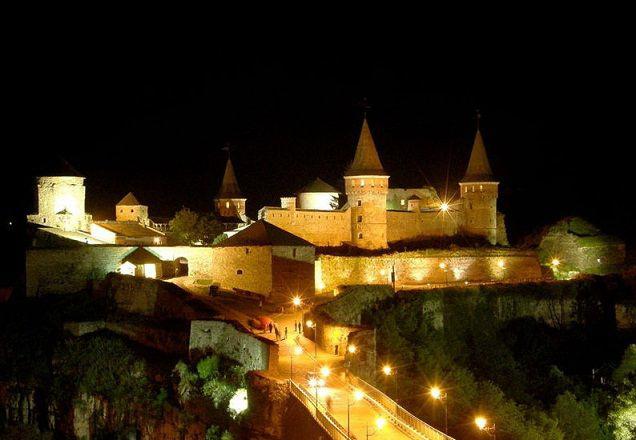 Ночная экскурсия по Старой крепости
