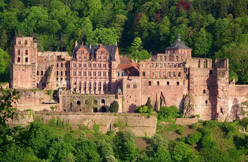 Хайдельбергский замок-музей