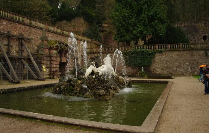 Парк Английского дворца