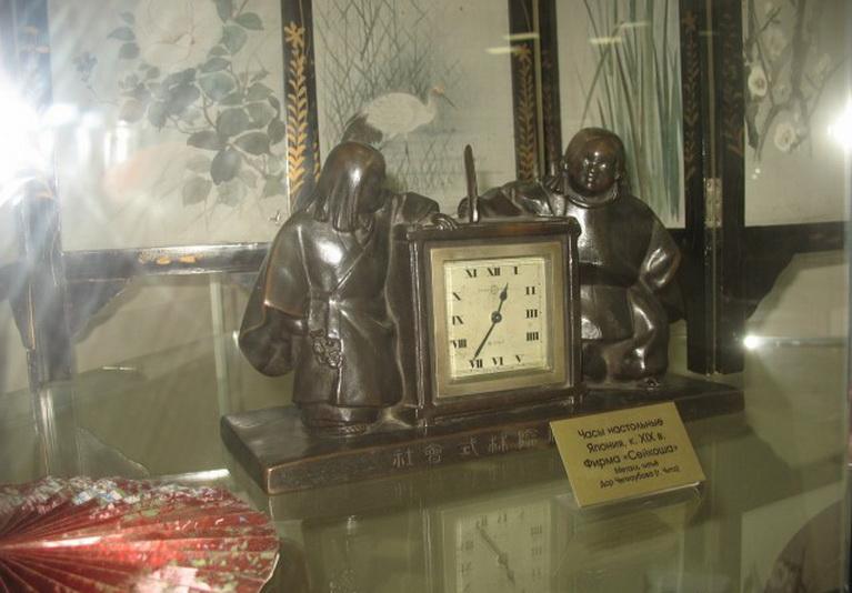 Экспозиция, посвященная шварцвальдским часовщикам