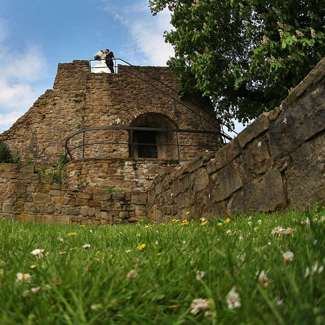 Замковые стены