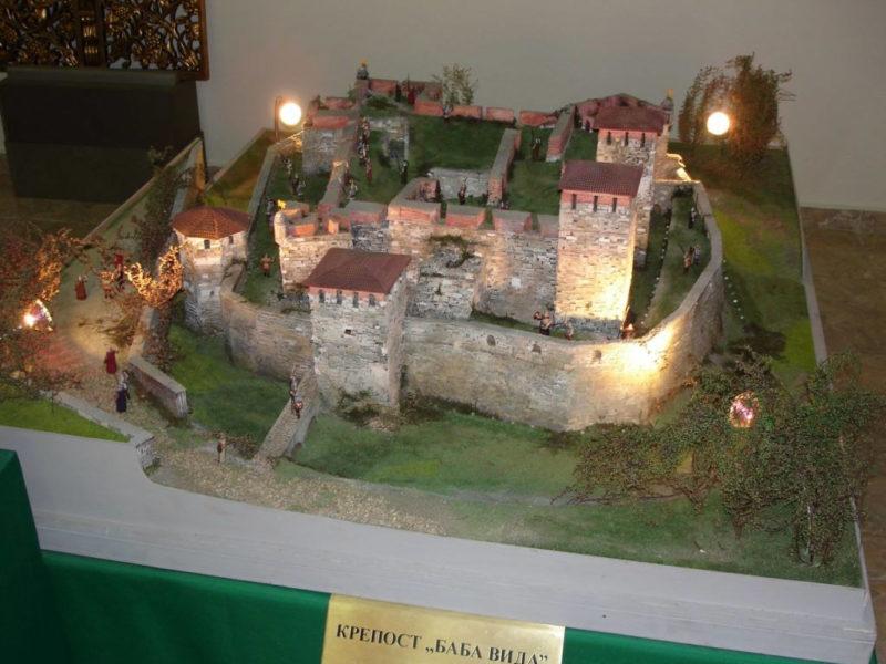 Экспонат крепости в музее