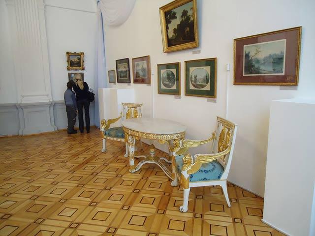 Парадный зал Румянцевского особняка