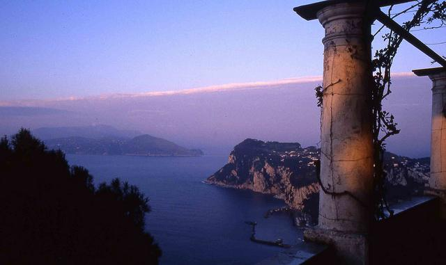 Панорамный вид на Капри