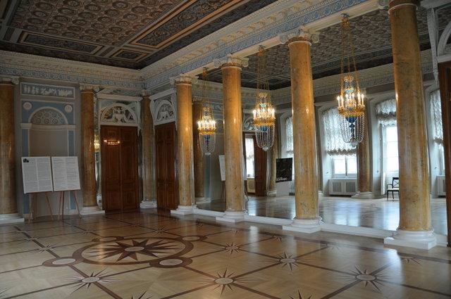 Зал дворца-музея