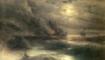 Буря у мыса Айя
