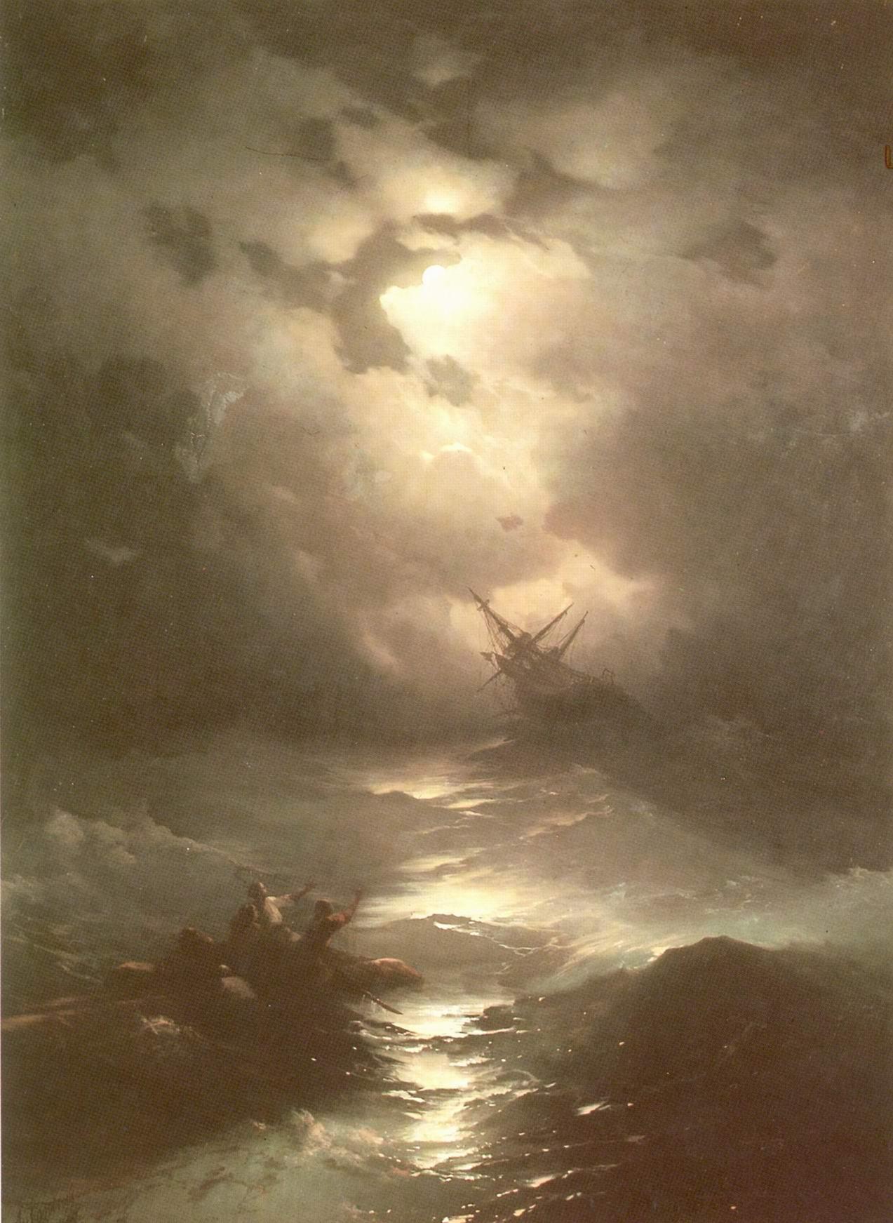 Буря на Северном море, Айвазовский Иван Константинович