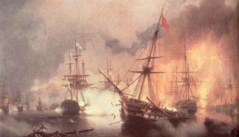 Морское сражение при Наварине (2 октября 1827)