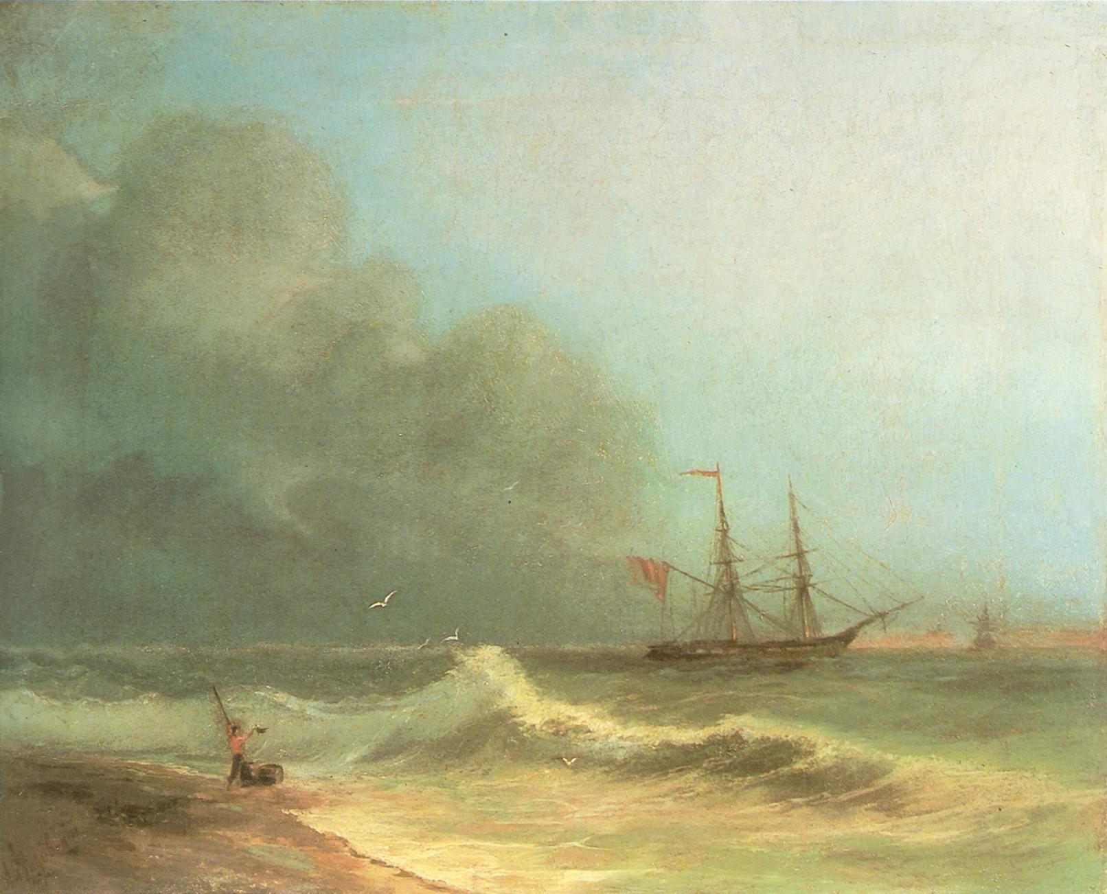 Море перед бурей, Айвазовский Иван Константинович
