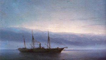 Перед боем. Корабль «Константин»