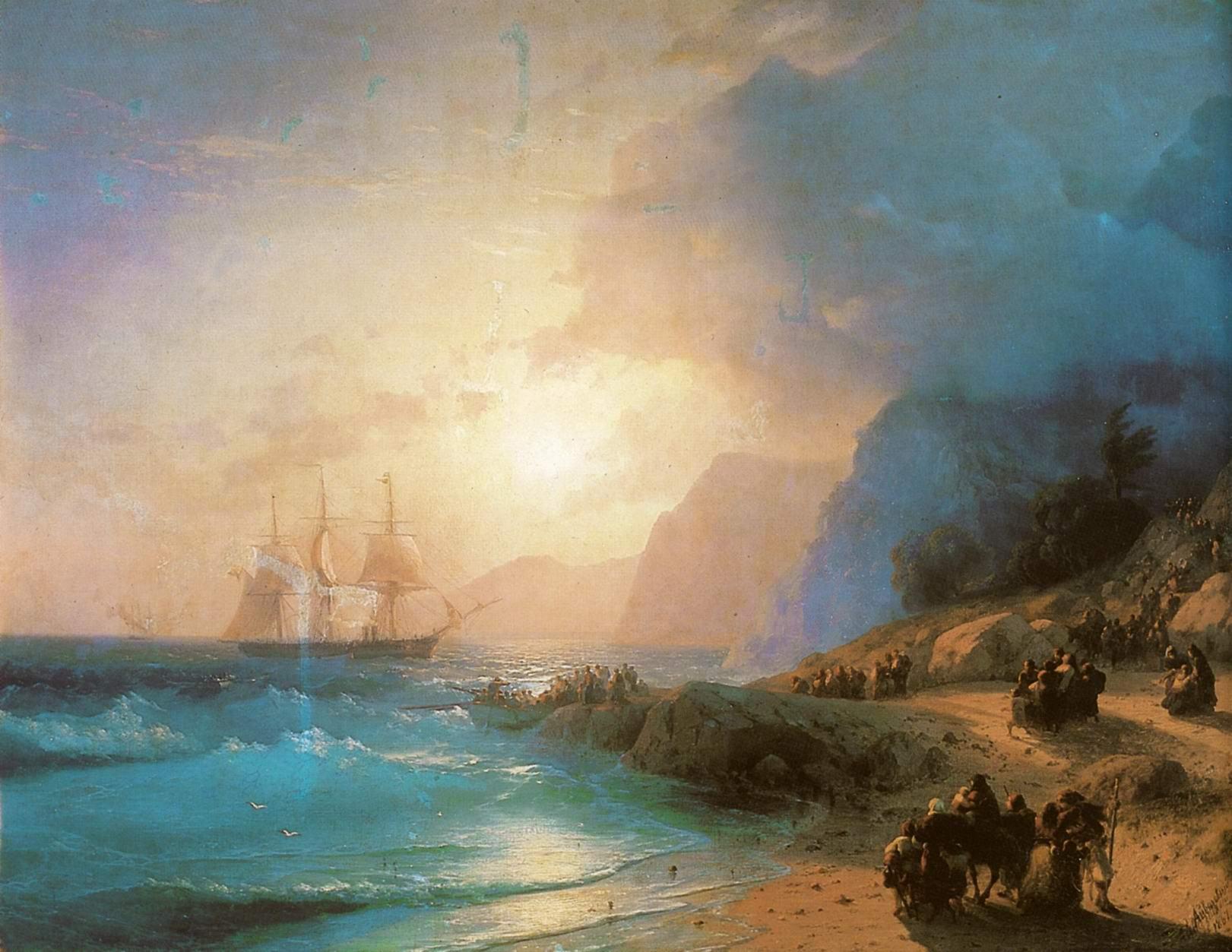 На острове Крит, Айвазовский Иван Константинович
