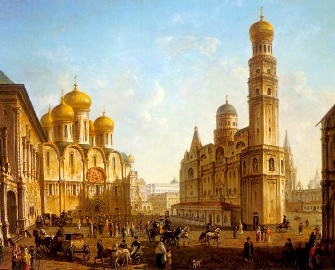 Соборная площадь в Московском Кремле, Алексеев Федор Яковлевич