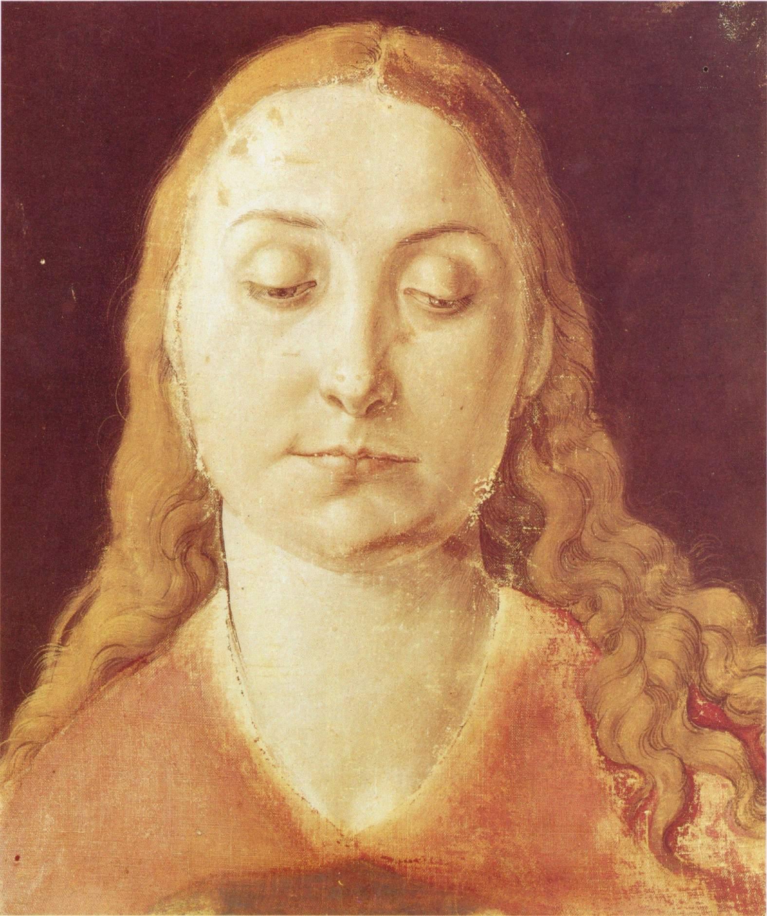 Голова Марии, Альбрехт Дюрер