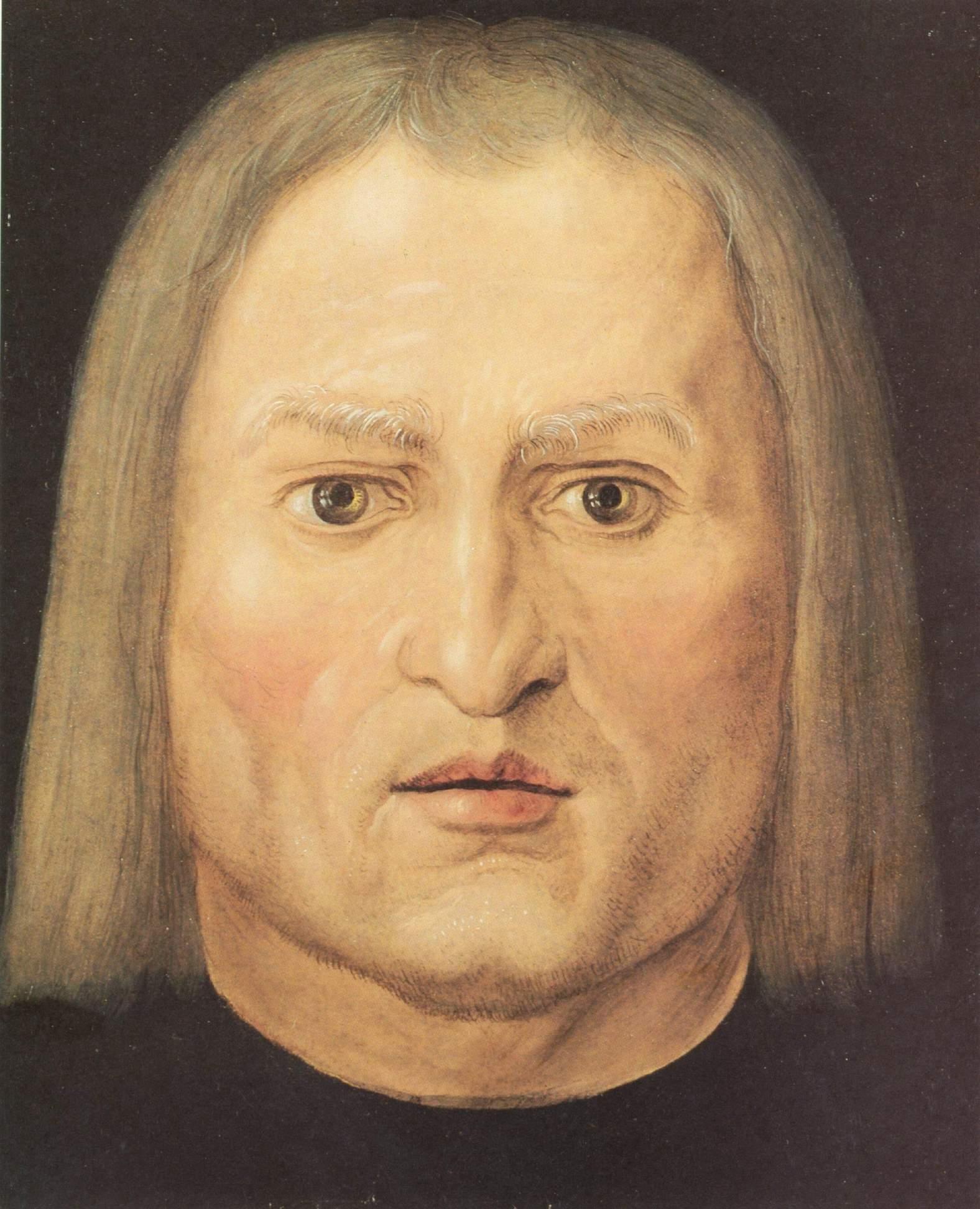 Голова мужчины, Альбрехт Дюрер