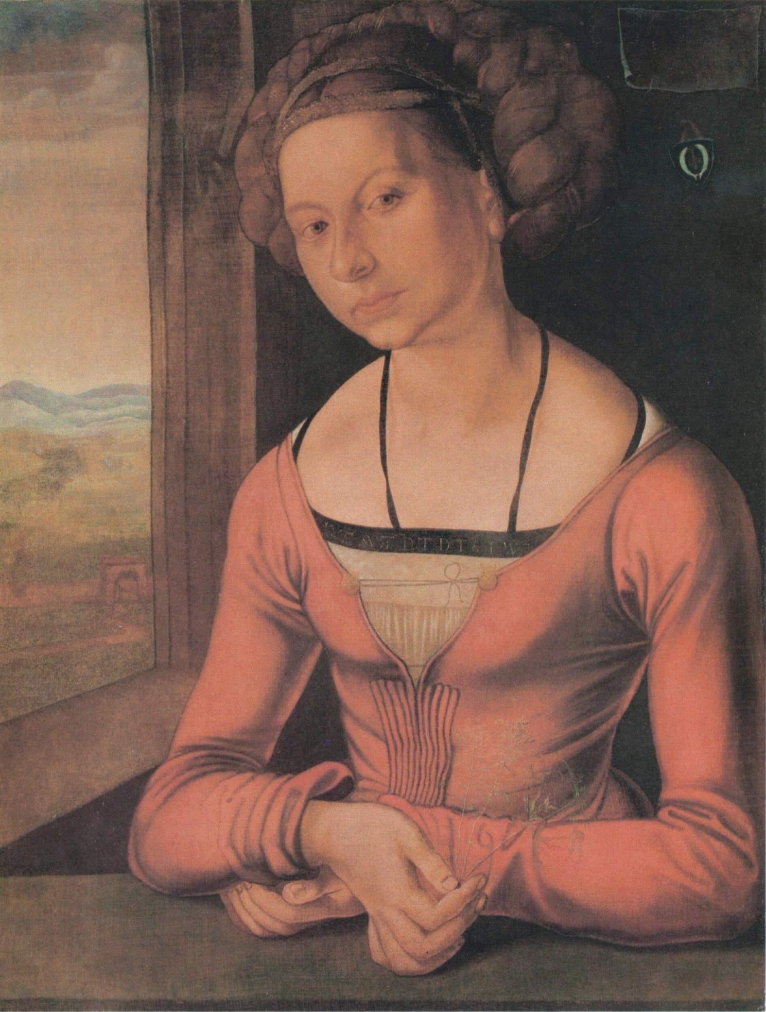 Девушка с заплетёнными волосами, Альбрехт Дюрер