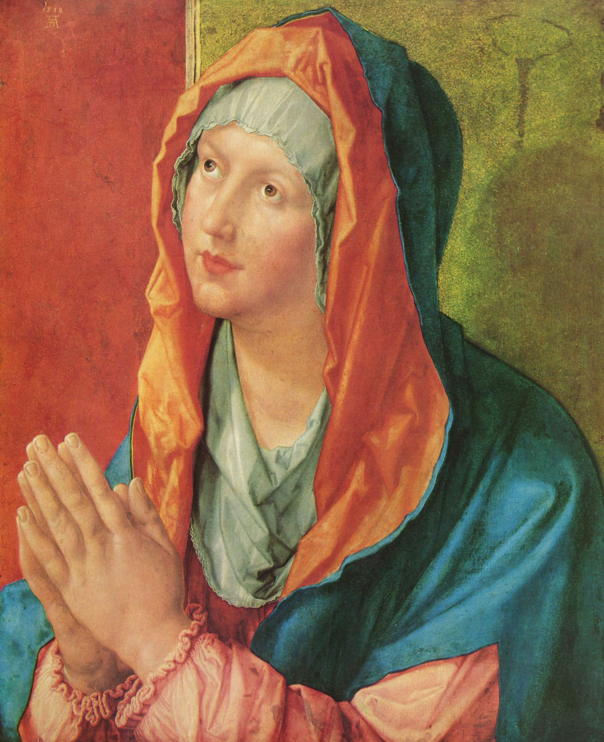 Молящаяся Мария, Альбрехт Дюрер
