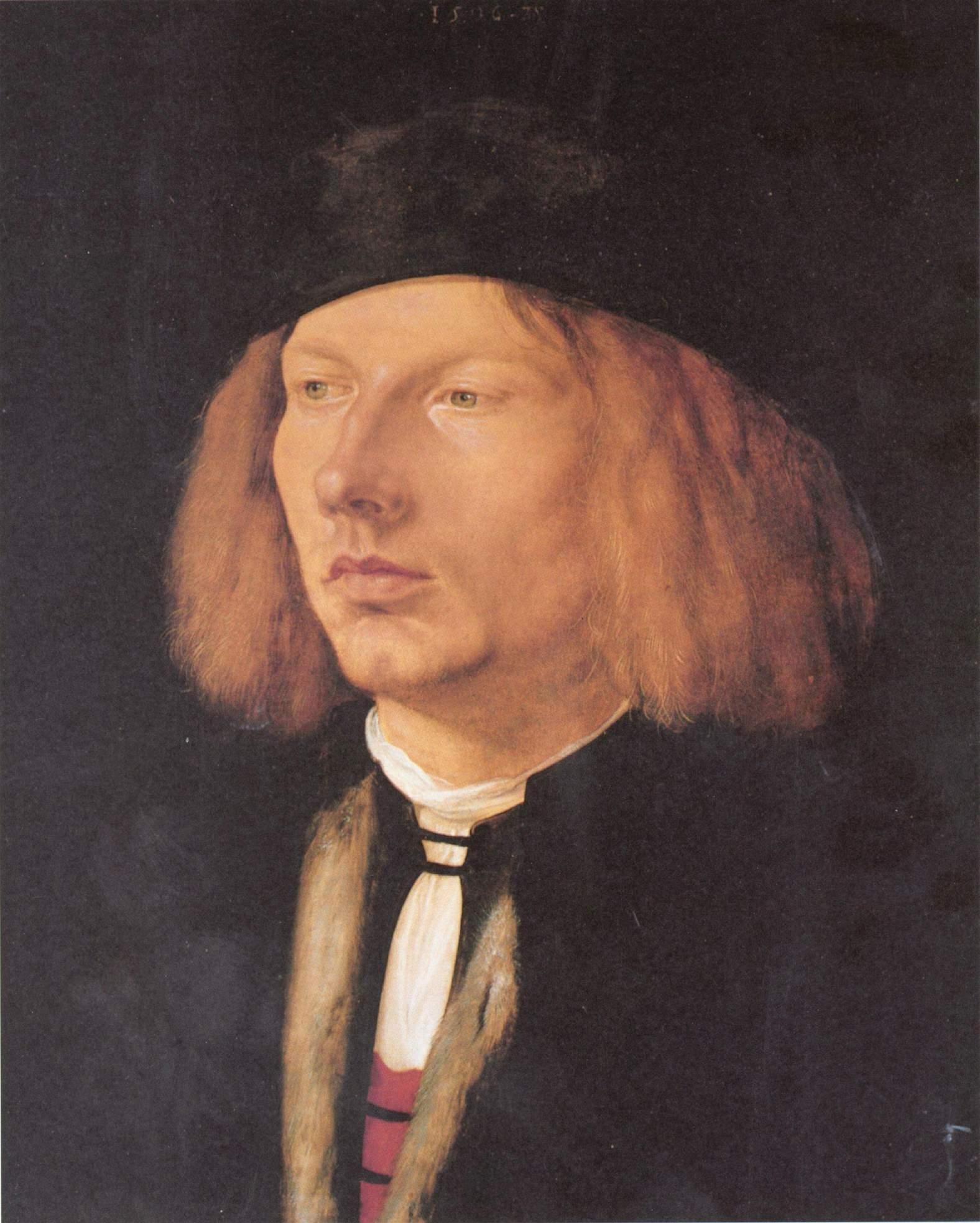 Портрет Буркарда фон Шпейера, Альбрехт Дюрер