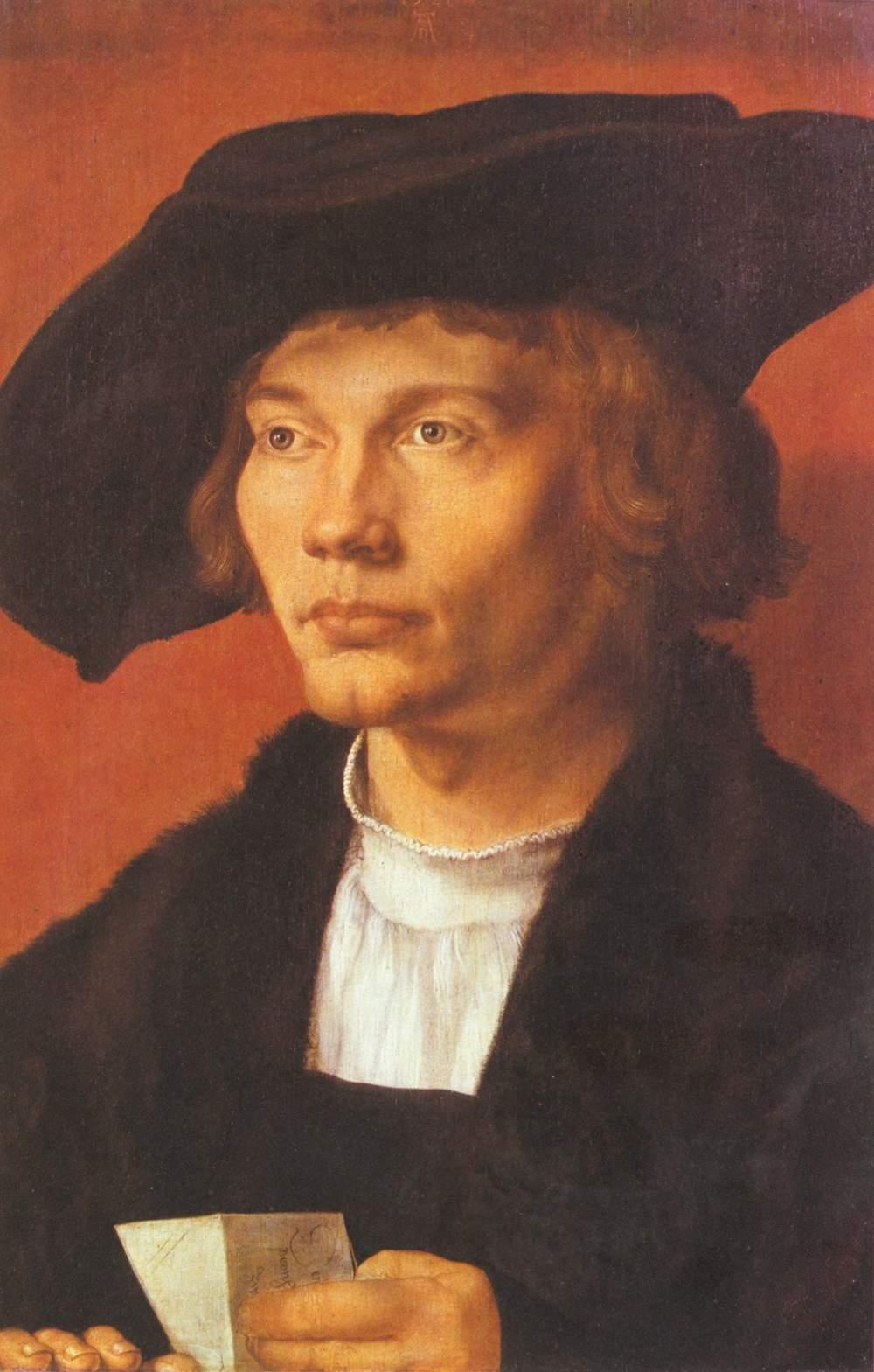 Портрет молодого человека (Бернхарта ван Рестена), Альбрехт Дюрер
