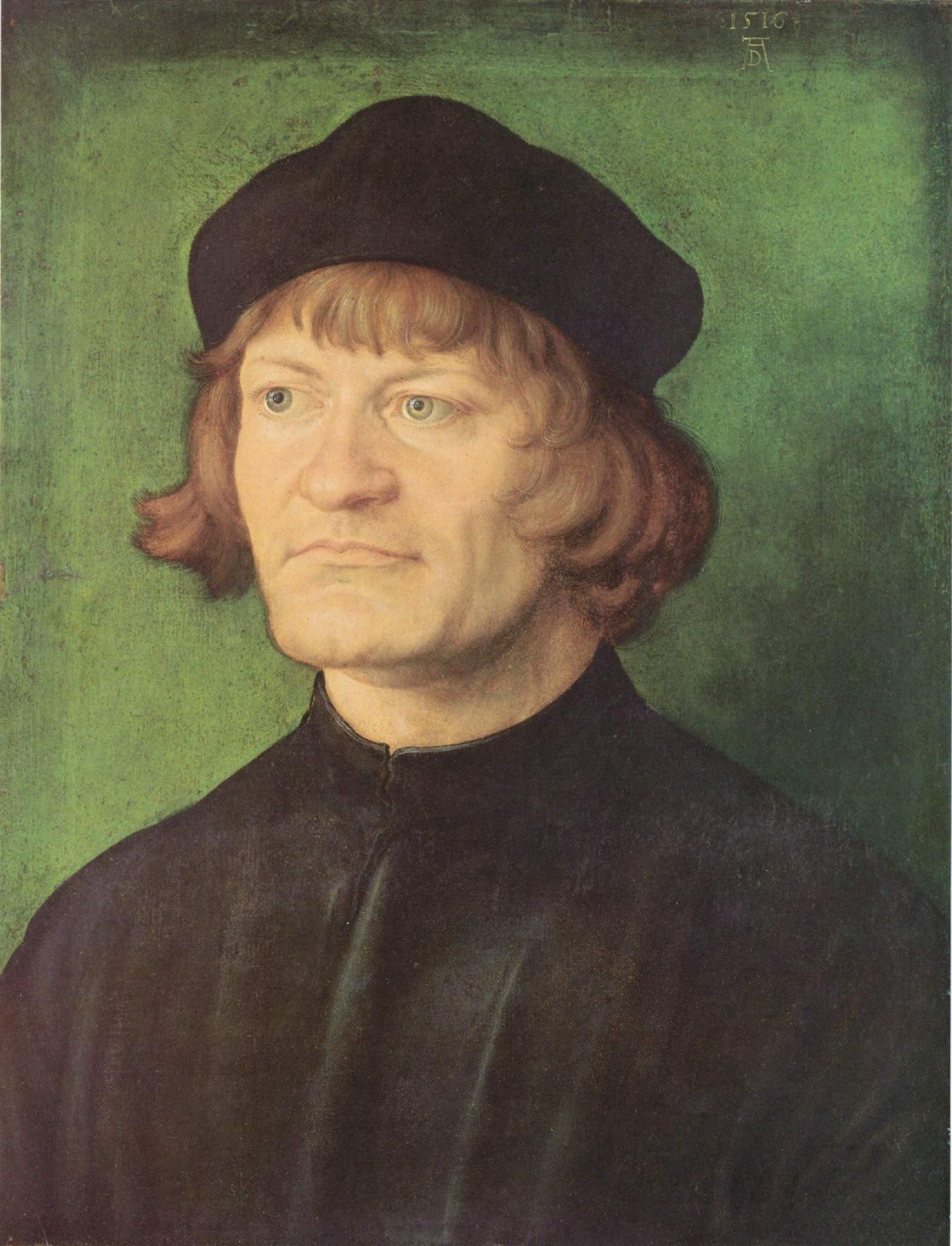 Портрет священника, Альбрехт Дюрер