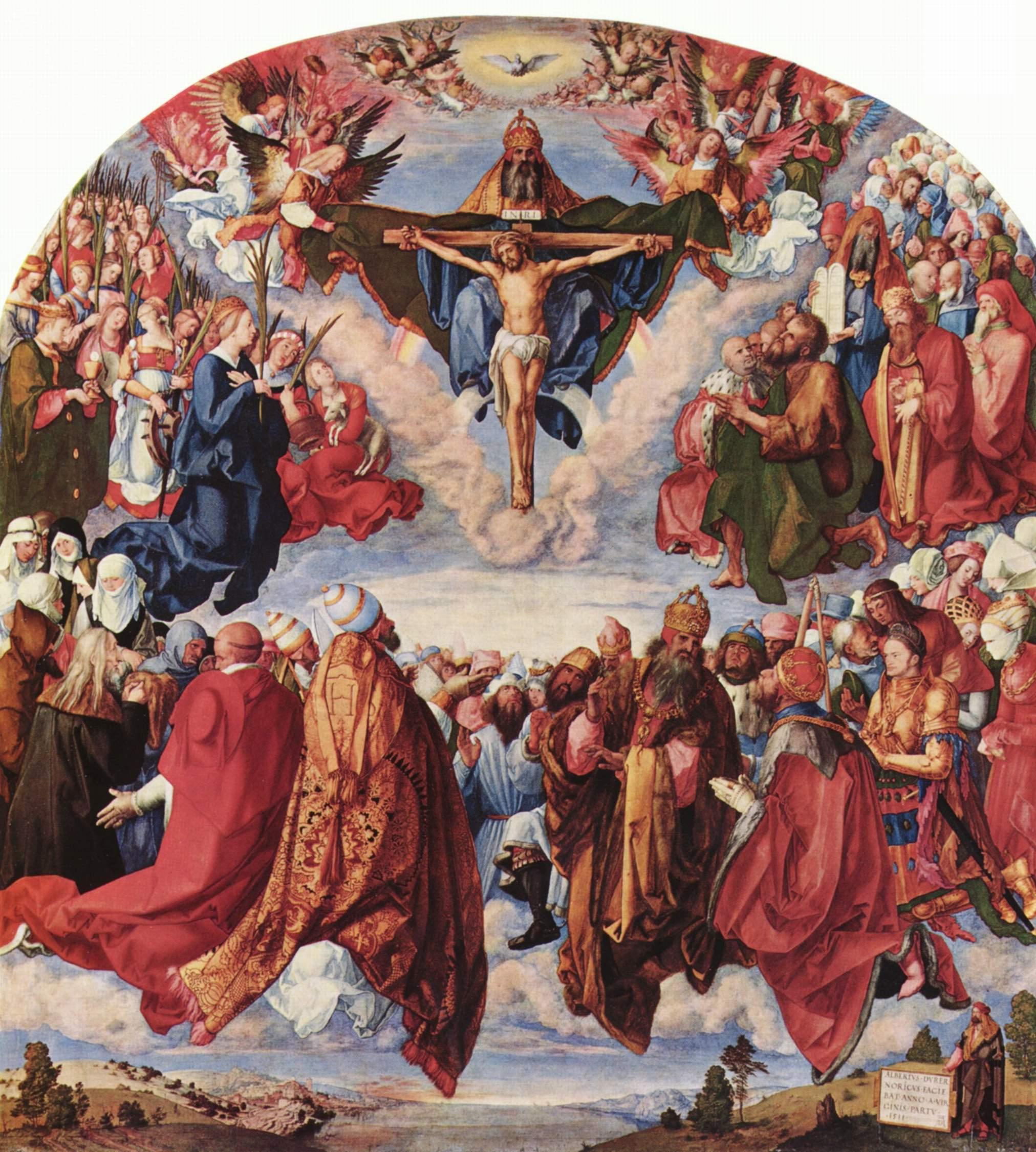 Праздник всех святых, Альбрехт Дюрер