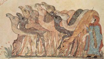 Харири, караваны верблюдов (тридцать второй макам)