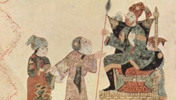 Харири, Абу Саид перед наместником Рахбой (десятый макам)