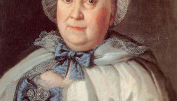 Портрет статс-дамы графини Марии Андреевны Румянцевой