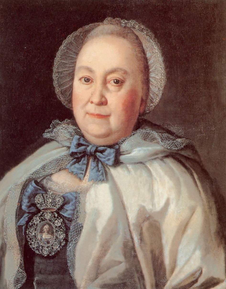 Портрет статс-дамы Марии Андреевны Румянцевой, Антропов Алексей Петрович