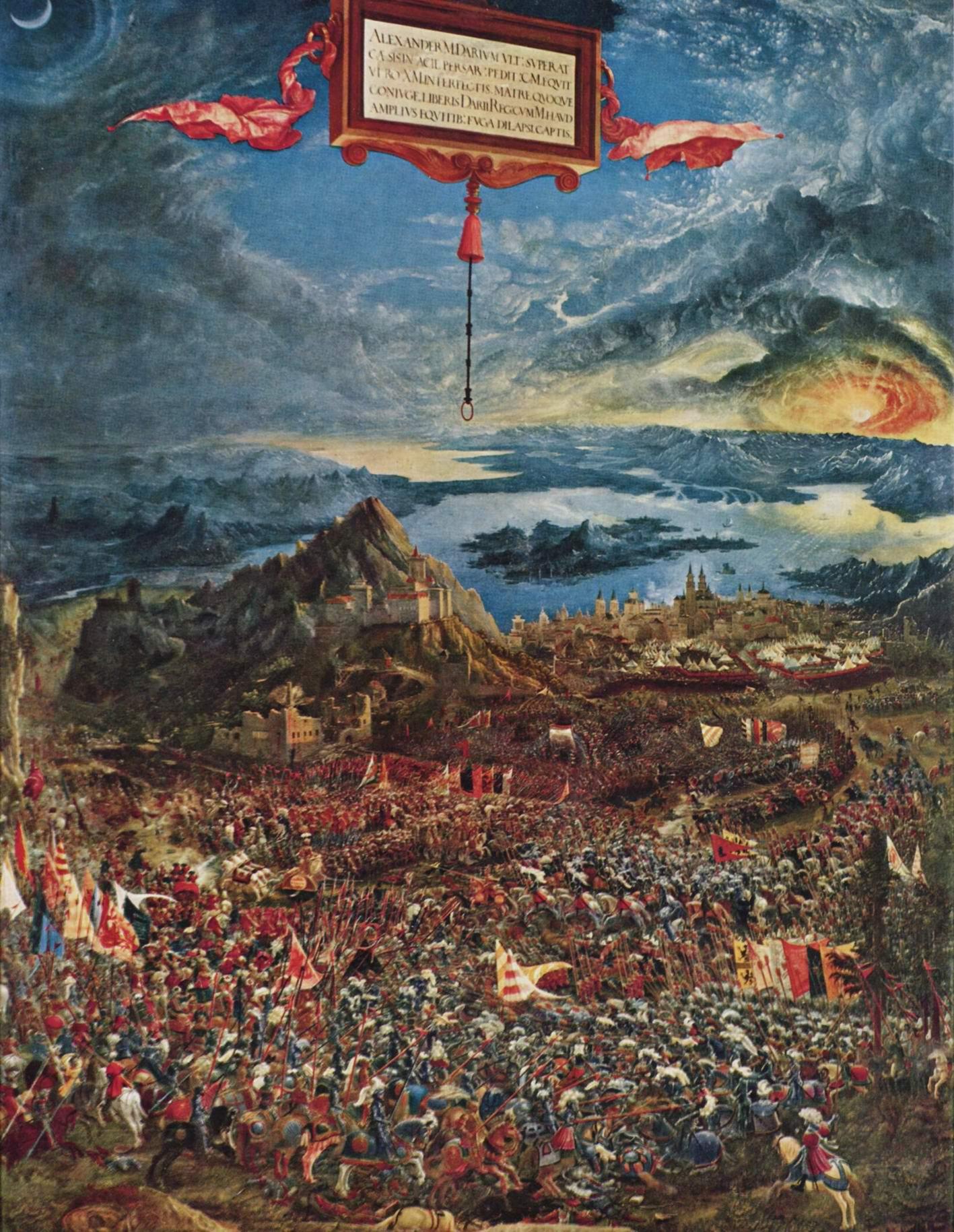 Битва Александра Македонского, Альтдорфер Альбрехт