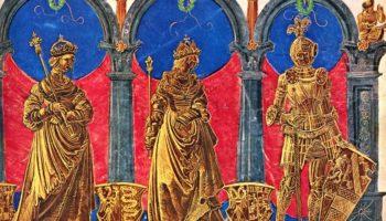 Триумфальное шествие Максимилиана  предки императора.