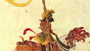 Триумфальное шествие императора Максимилиана, Жители Калькутты.