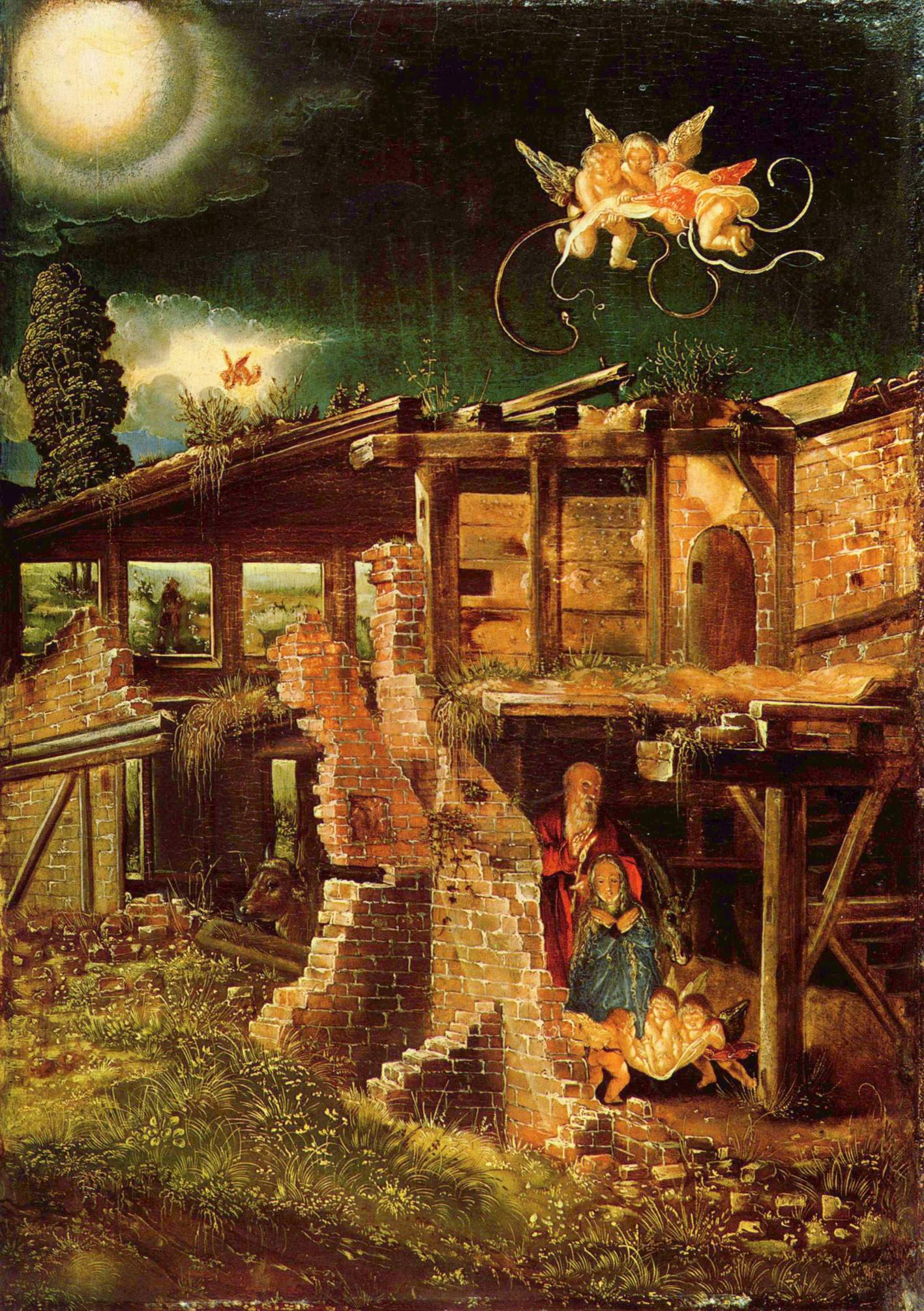 Святая ночь (Рождество Христово), Альтдорфер Альбрехт