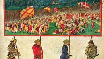 Триумфальное шествие императора Максимилиана, Швейцарский поход