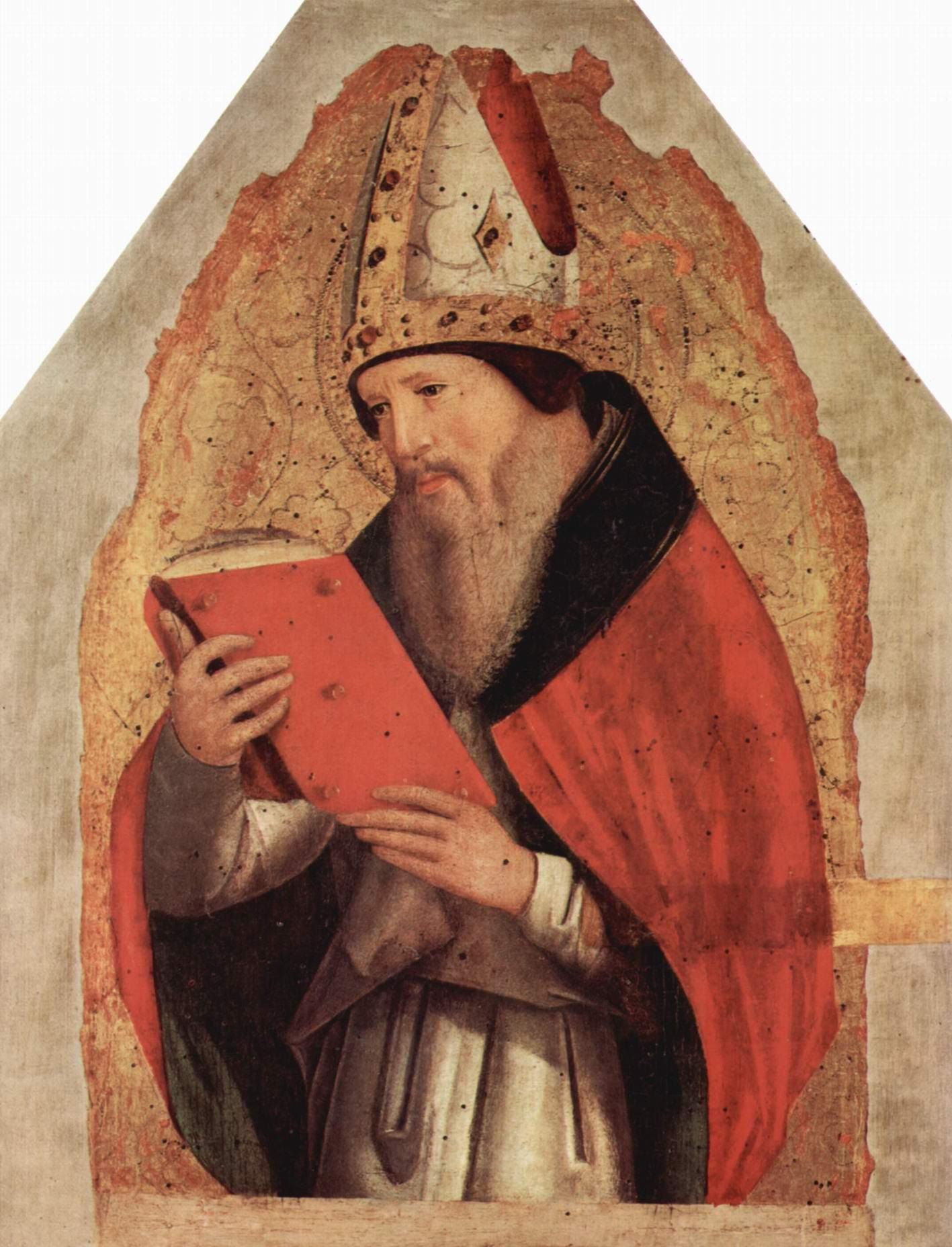 Св. Августин, Антонелло да Мессина