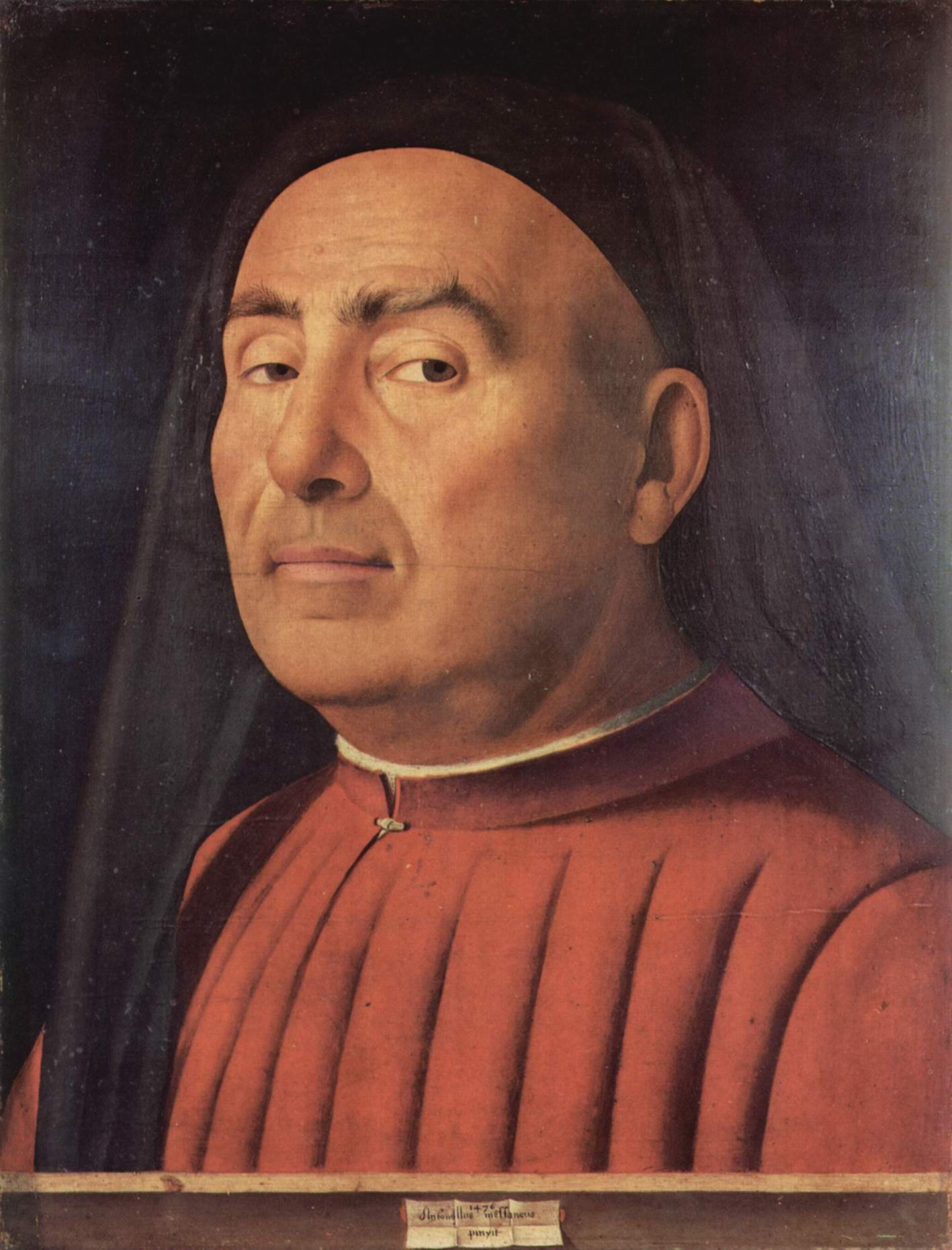 Портрет мужчины (Тривульцио ди Милано2a28, Антонелло да Мессина