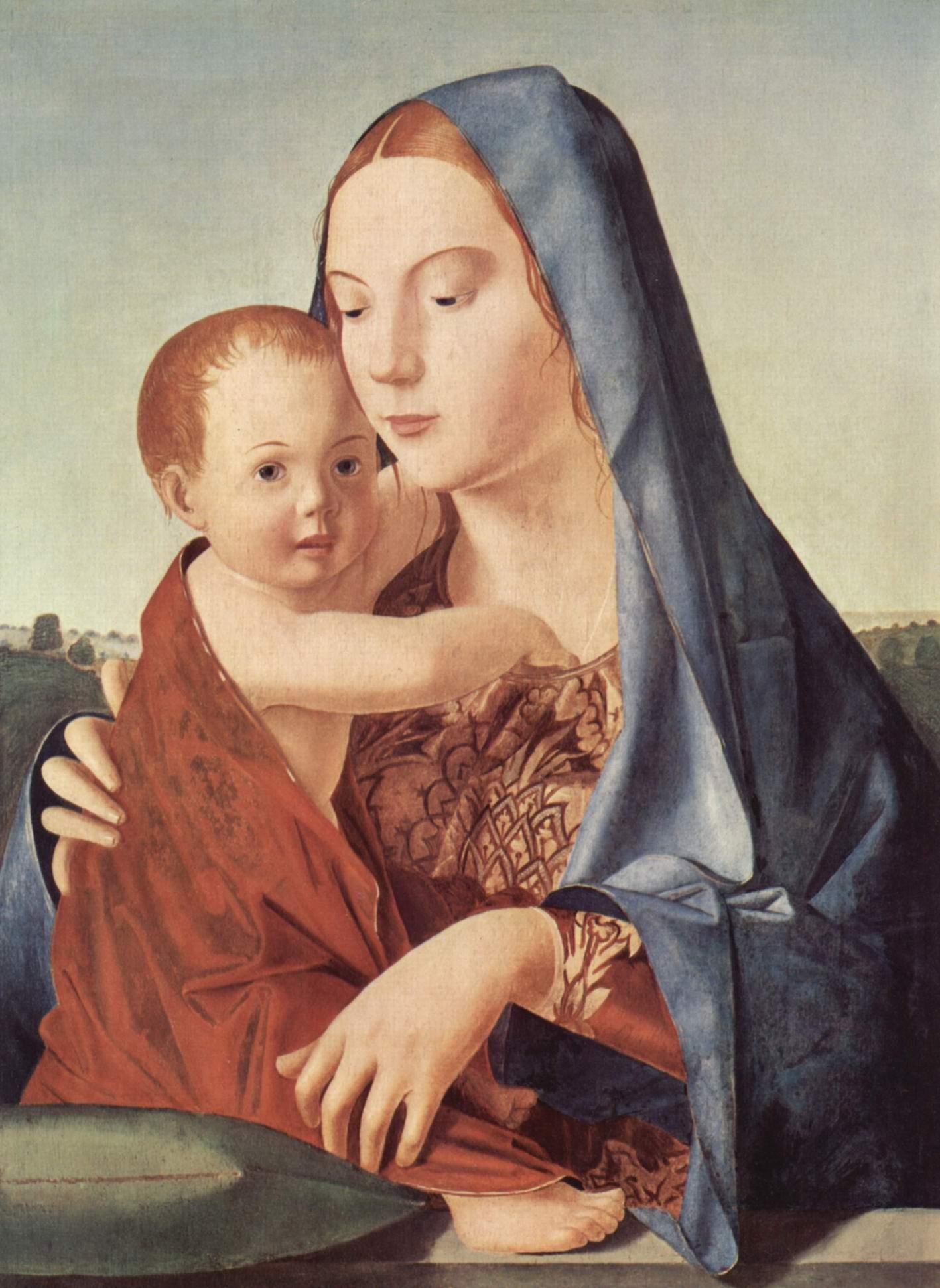 Мадонна, (так называемая, Антонелло да Мессина