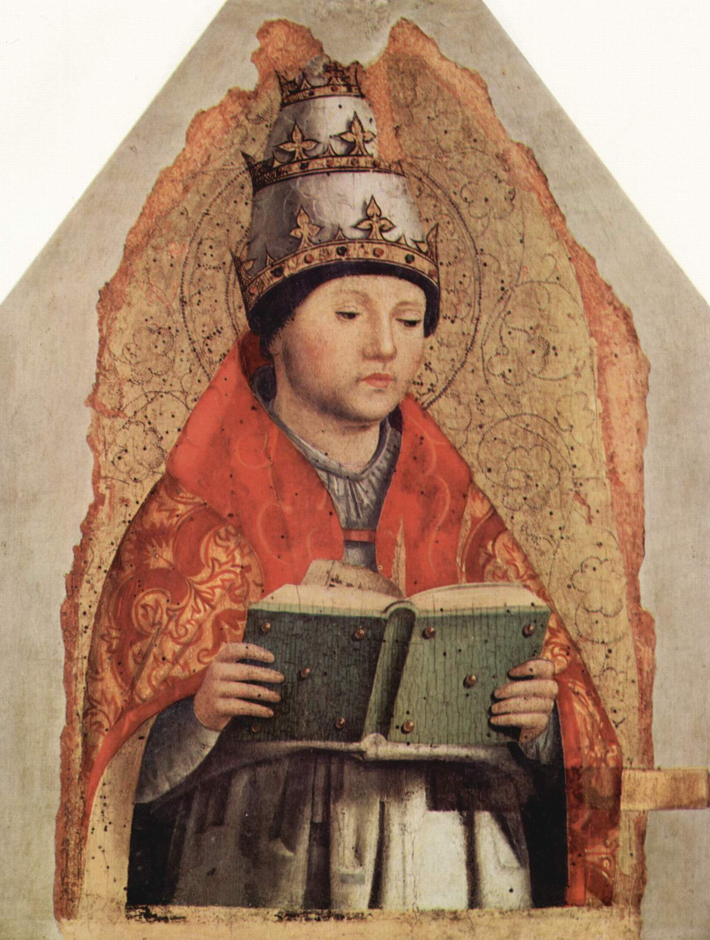 Св. Григорий, Антонелло да Мессина