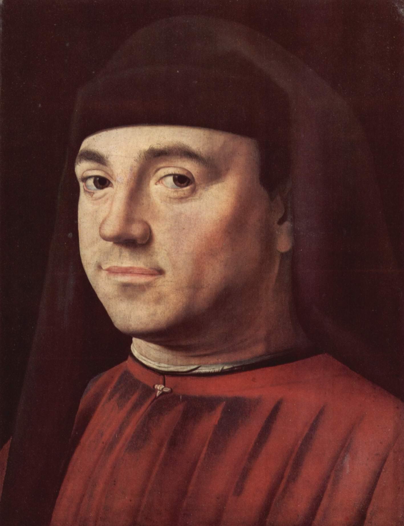 Портрет неизвестного, Антонелло да Мессина