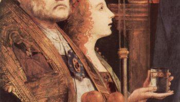 Фрагмент Pala di San Cassiano, Венеция, св. Николай и св. Мария Магдалина