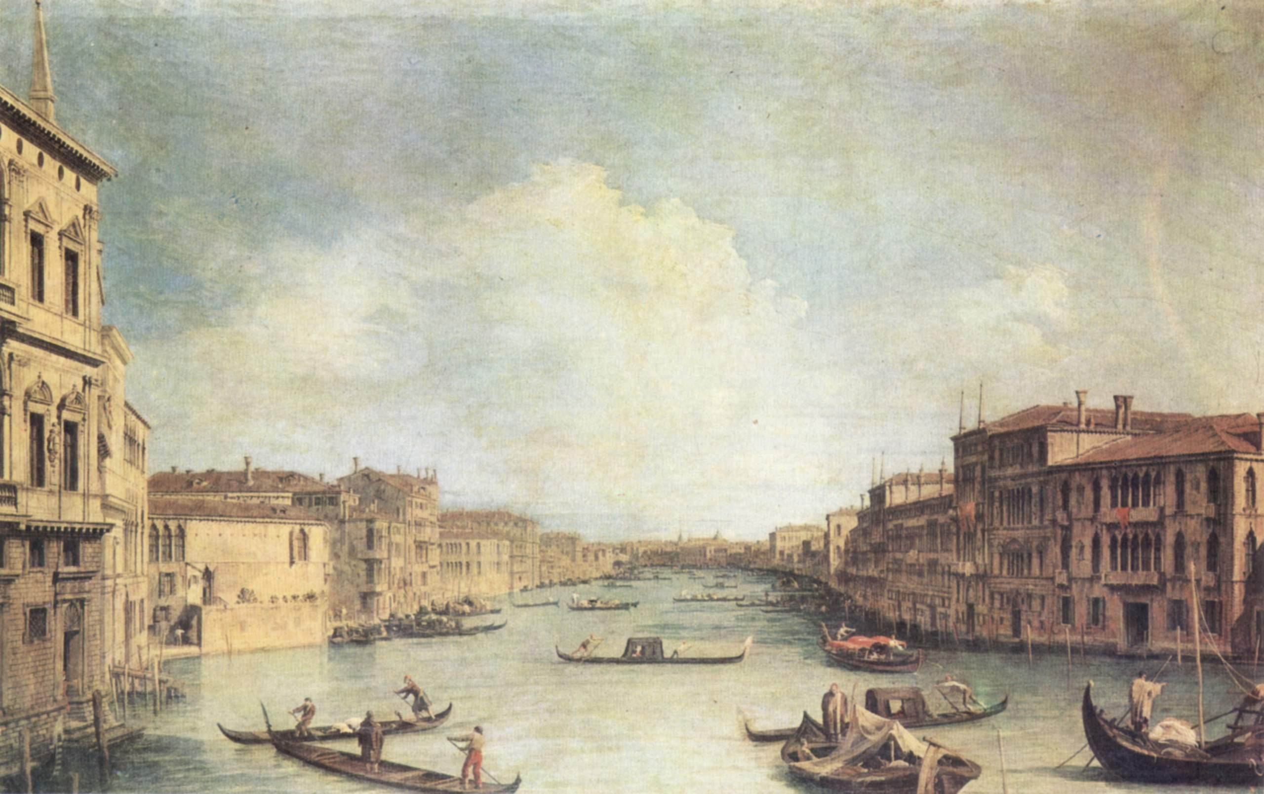 Большой канал, Антонио Каналетто 2