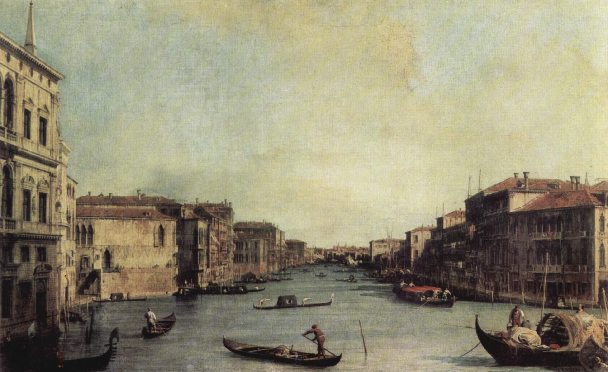 Ll Canal Grande (Большой канал), Антонио Каналетто 2