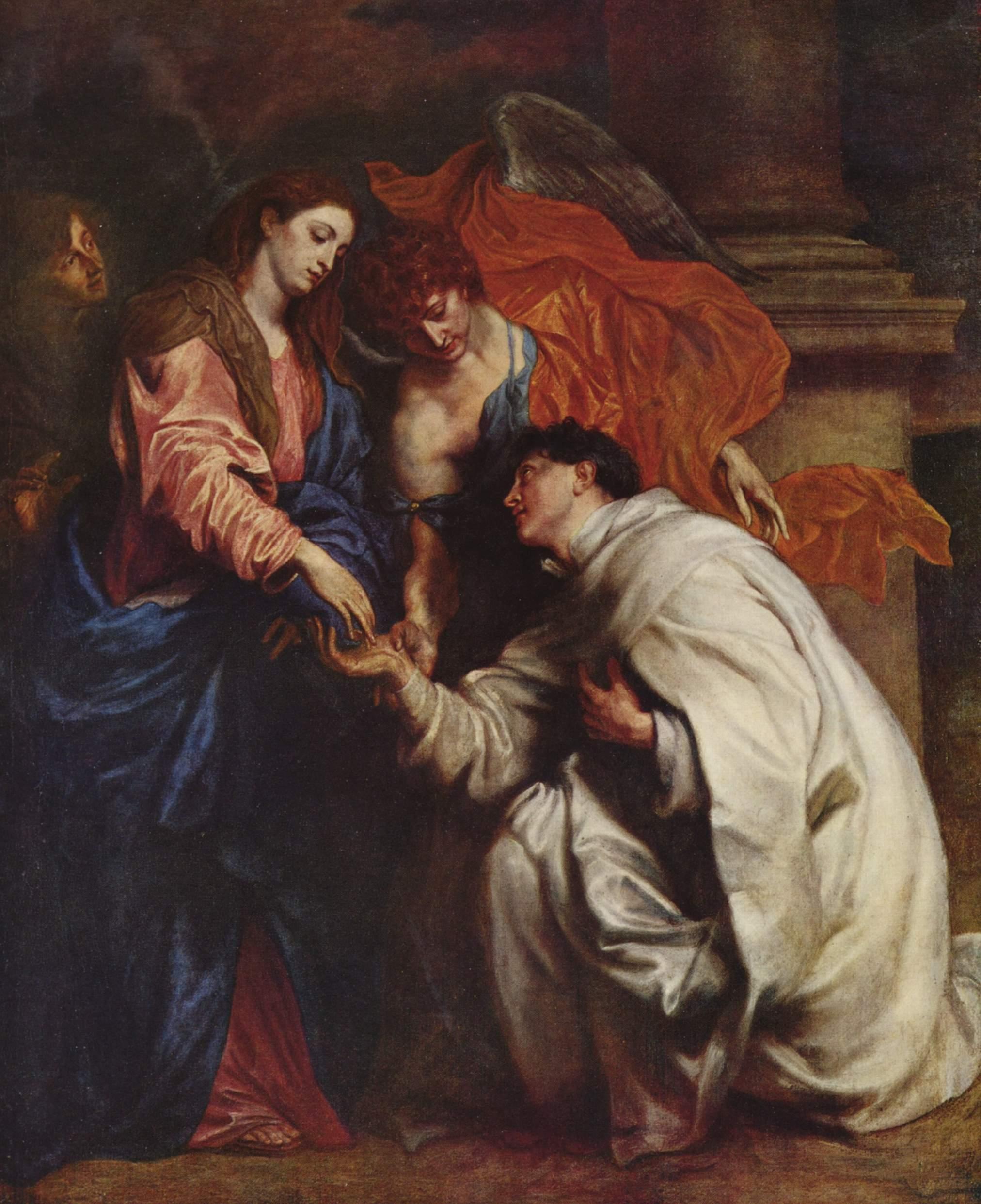 Видение священника Германа Йозефа, Антонис ван Дейк